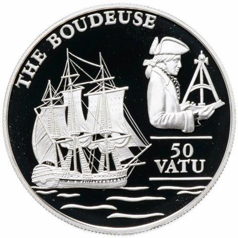 """купить Вануату 50 вату (vatu) 1993 """"Фрега Ла Будез (The Boudeuse)"""""""