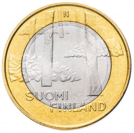 """купить Финляндия 5 евро 2013 """"Провинция Сатакунта"""""""