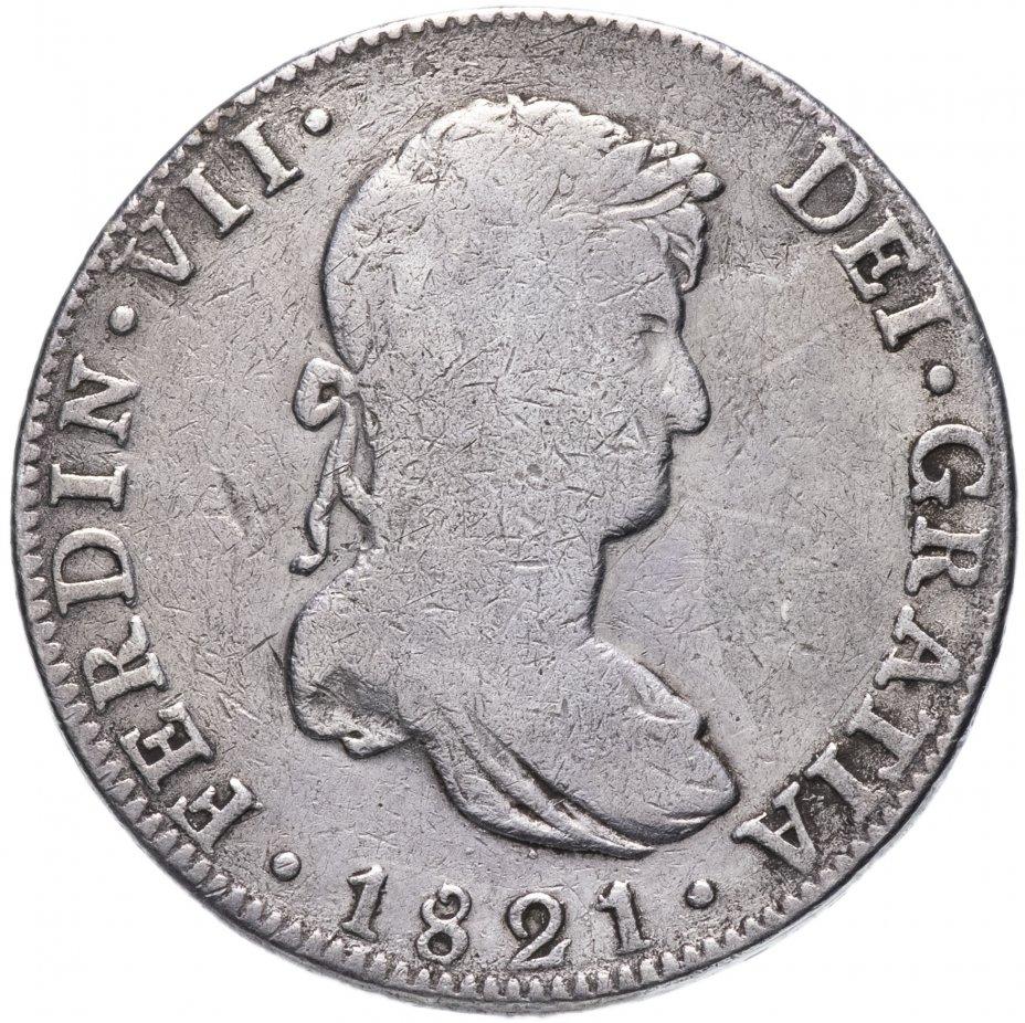 купить Мексика 8 реалов (reales) 1821 JJ