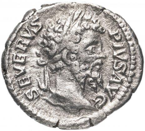 купить Римская империя, Септимий Север, 193-211 годы, Денарий. (Небесная богиня Карфагена) (Лев)