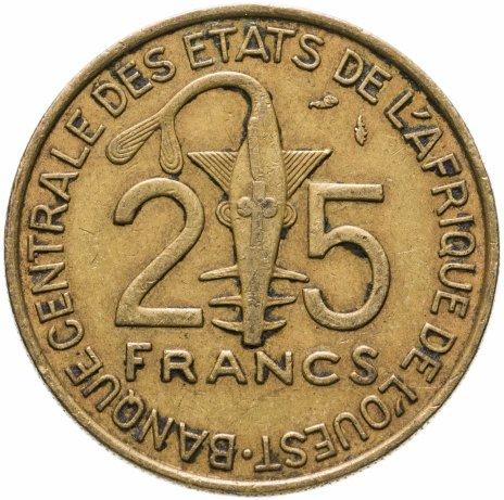 купить Западная Африка (BCEAO) 25 франков (francs) 1979