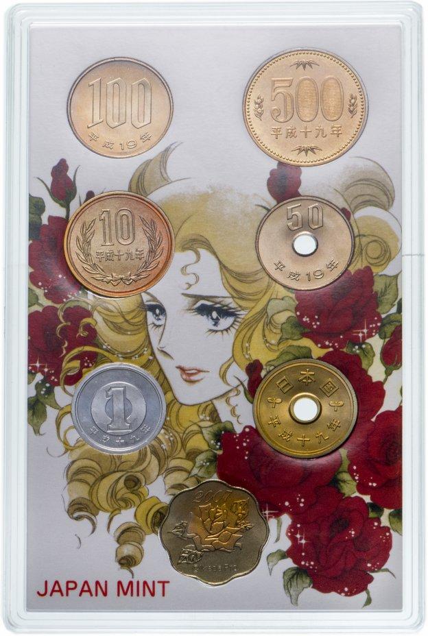 купить Япония годовой набор из 7-ми монет 2007 в футляре