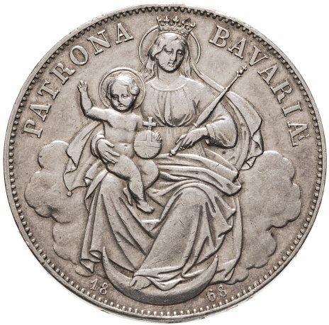 купить Бавария 1 талер 1868 Мадонна