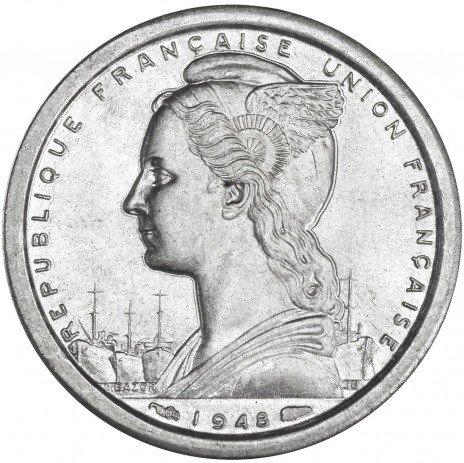купить Франция 1 франк 1948 Сен-Пьер и Микелон