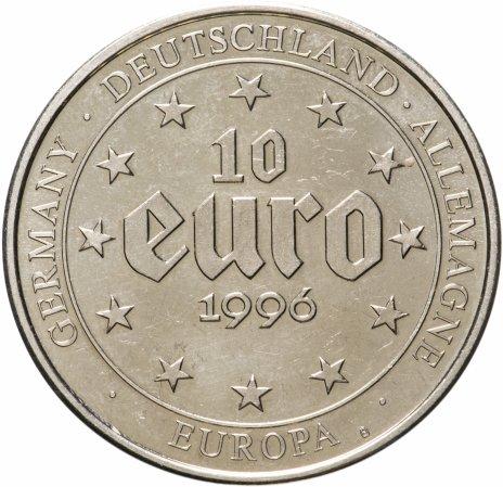 """купить Германия (ФРГ), медаль 10 евро 1996 """"Король Карл Великий"""""""