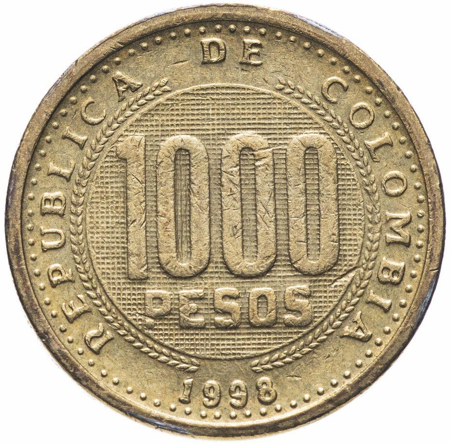 купить Колумбия 1000 песо 1998