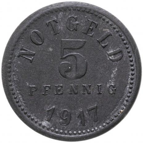 купить Германия, Бад-Киссинген 5 пфенниг 1917