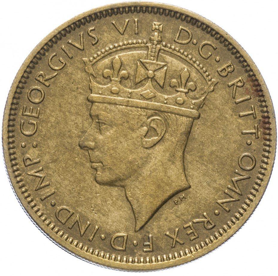 купить Британская Западная Африка 1 шиллинг 1943