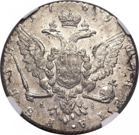 купить 1 рубль 1769 года ММД-EI