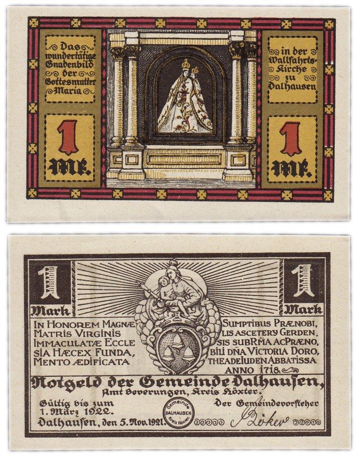 купить Германия (Вестфалия : Дальхаузен) 1 марка 1921
