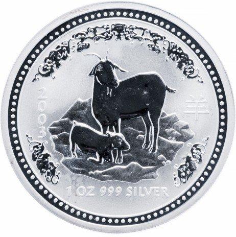 """купить Австралия 1 доллар 2003 """"Год козы"""""""
