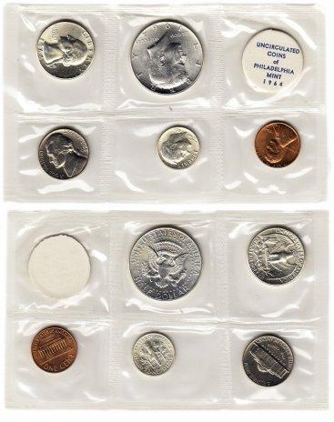 купить США годовой набор 1964 P (5 монет + жетон)