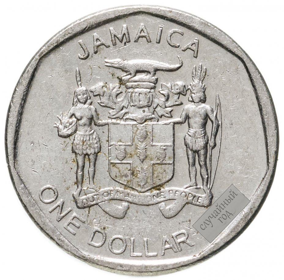 купить Ямайка 1 доллар (dollar) 2008-2018, случайная дата