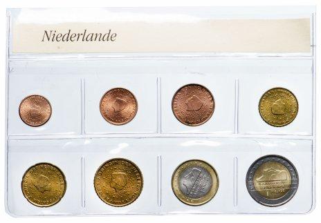 купить Нидерланды набор из 8 монет 1999-2000