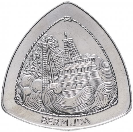 """купить Бермуды 1 доллар 1997 """"Крушение корабля """"Sea Venture"""""""""""