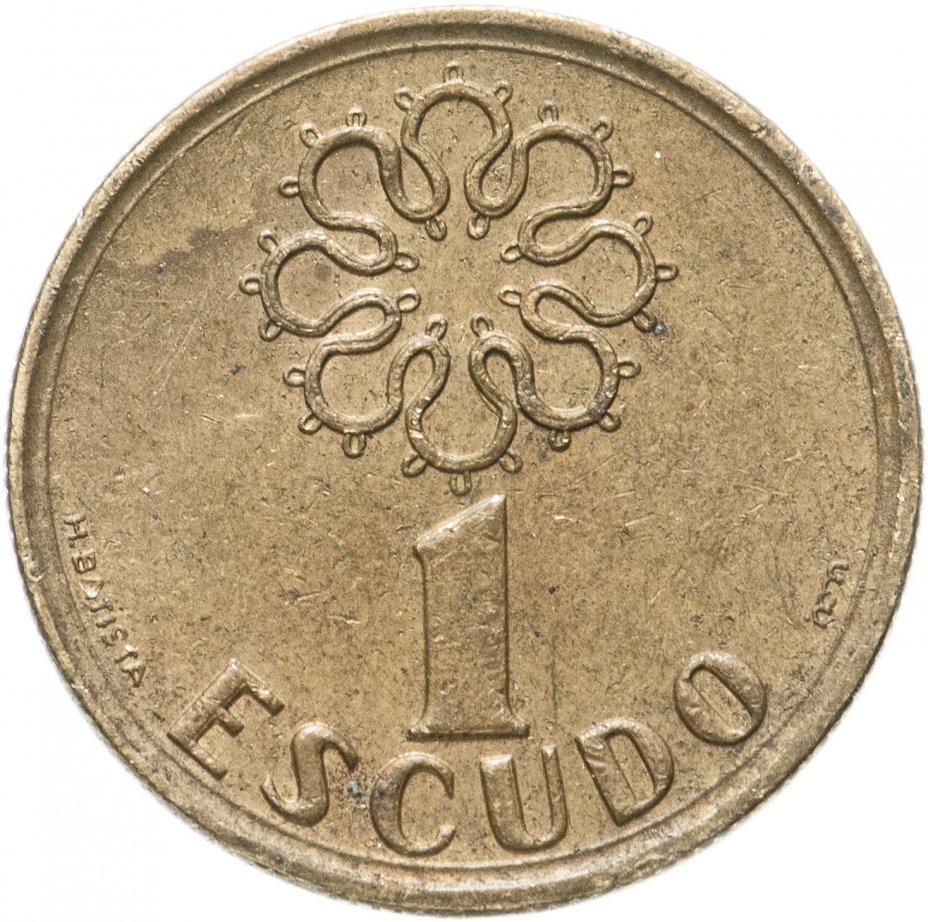 купить Португалия 1 эскудо (escudo) 1986-2001, случайная дата