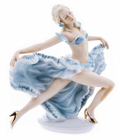 """купить Статуэтка """"Танцовщица"""", фарфор, роспись, мануфактура """"Fasold&Stauch"""", Германия, 1940-1960 гг."""