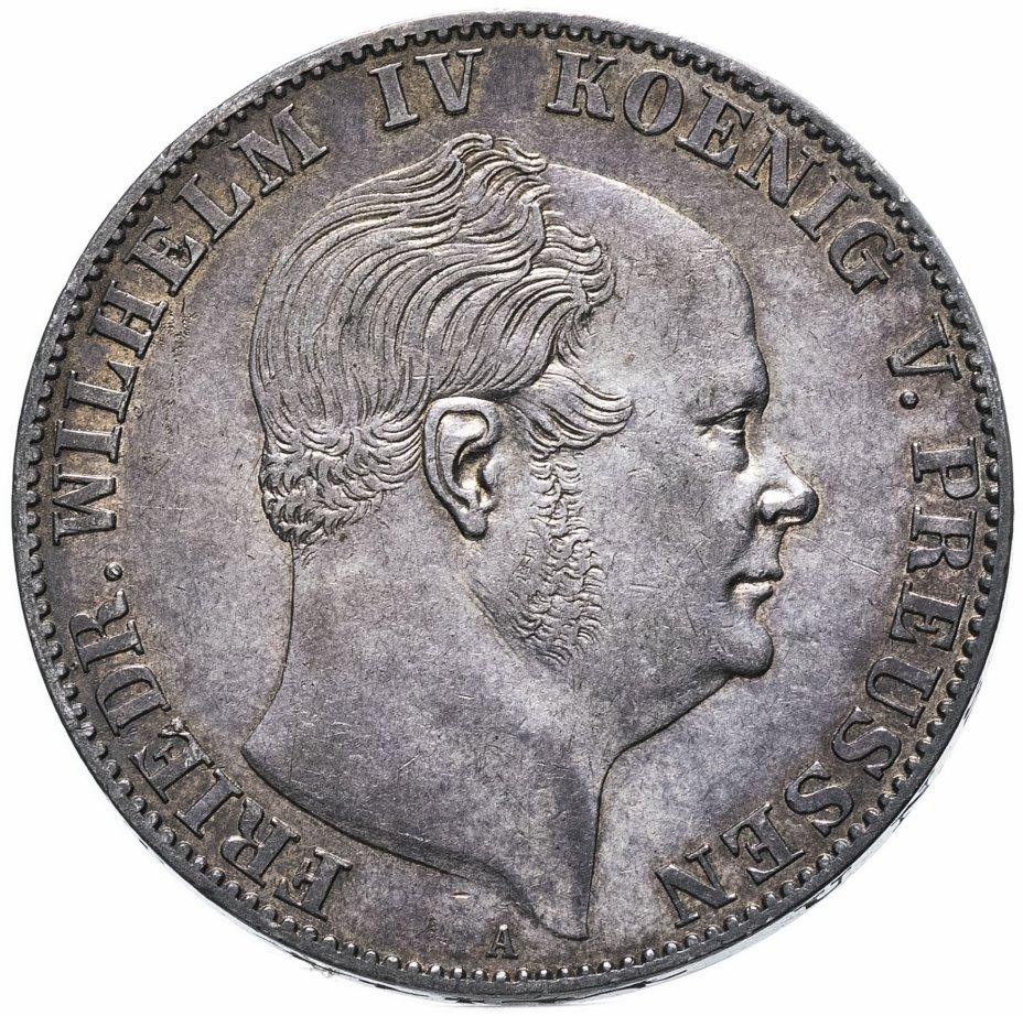 """купить Германия (Пруссия) 1союзныйталер (vereinsthaler) 1859  """"A"""""""