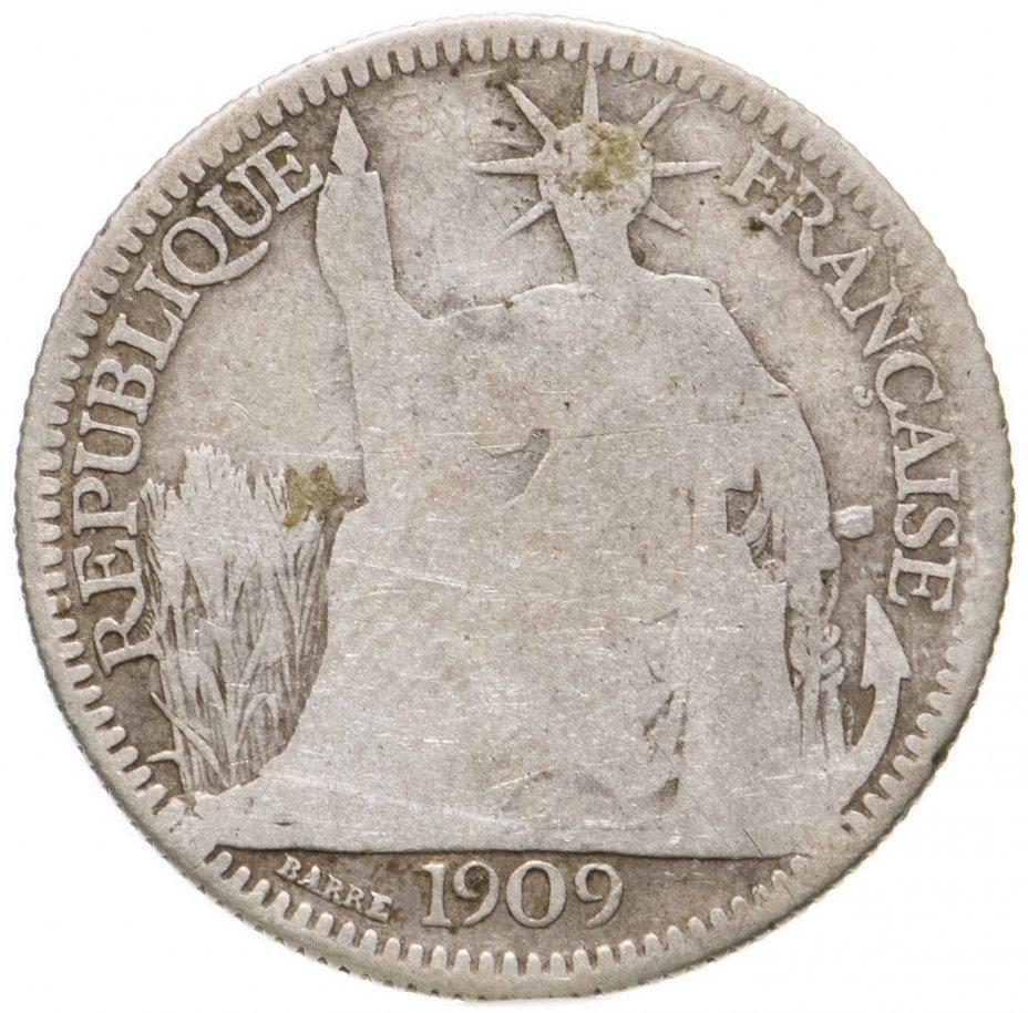 купить Французский Индокитай 10сантимов (centimes) 1909