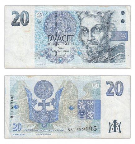 купить Чехия 20 крон 1994 (Pick 10c)