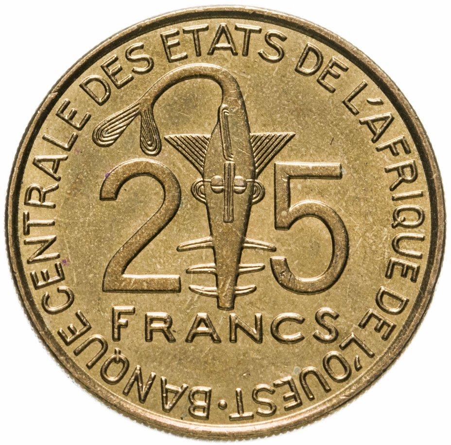 купить Западная Африка (BCEAO) 25 франков (francs) 2013