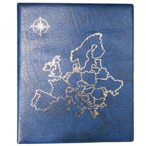 """купить Папка на кольцах формата OPTIMA """"Европа"""", синяя"""