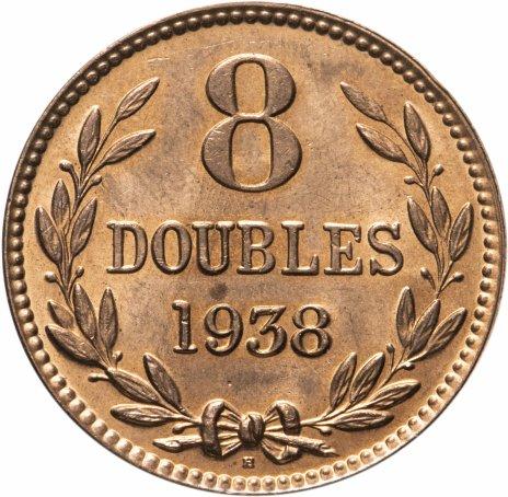 купить Гернси 8 дублей (doubles) 1938