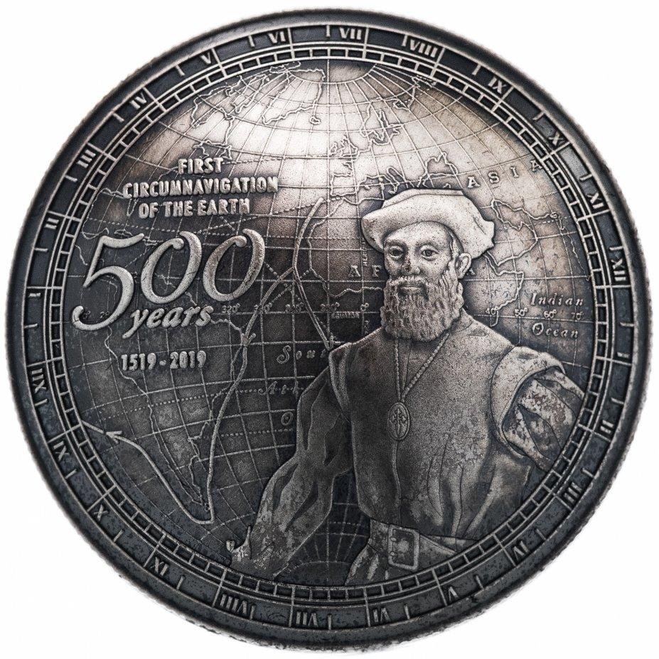 """купить Самоа 2 доллара 2019 """"400 лет кругосветному путешествию Магеллана"""""""