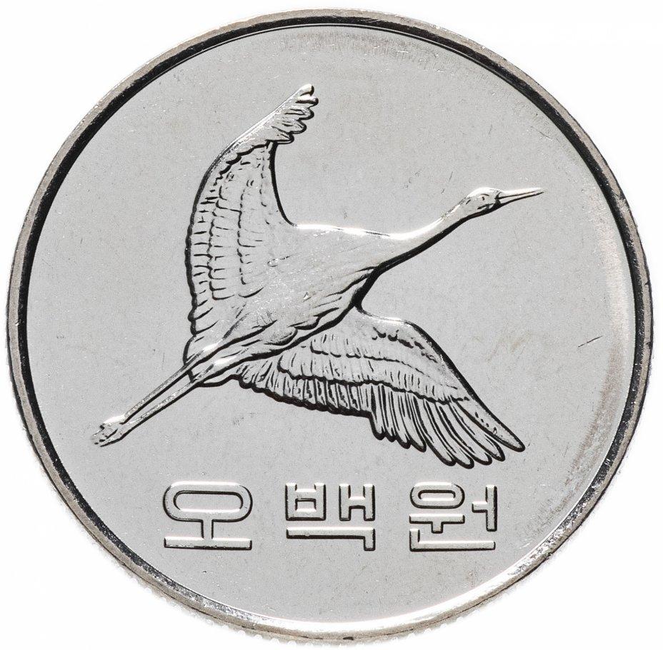 купить Южная Корея 500 вон (won) 2016