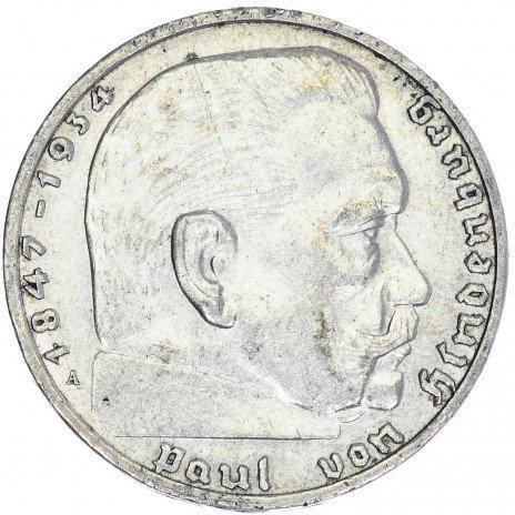 купить Третий Рейх Фашистская Германия 2 марки 1937
