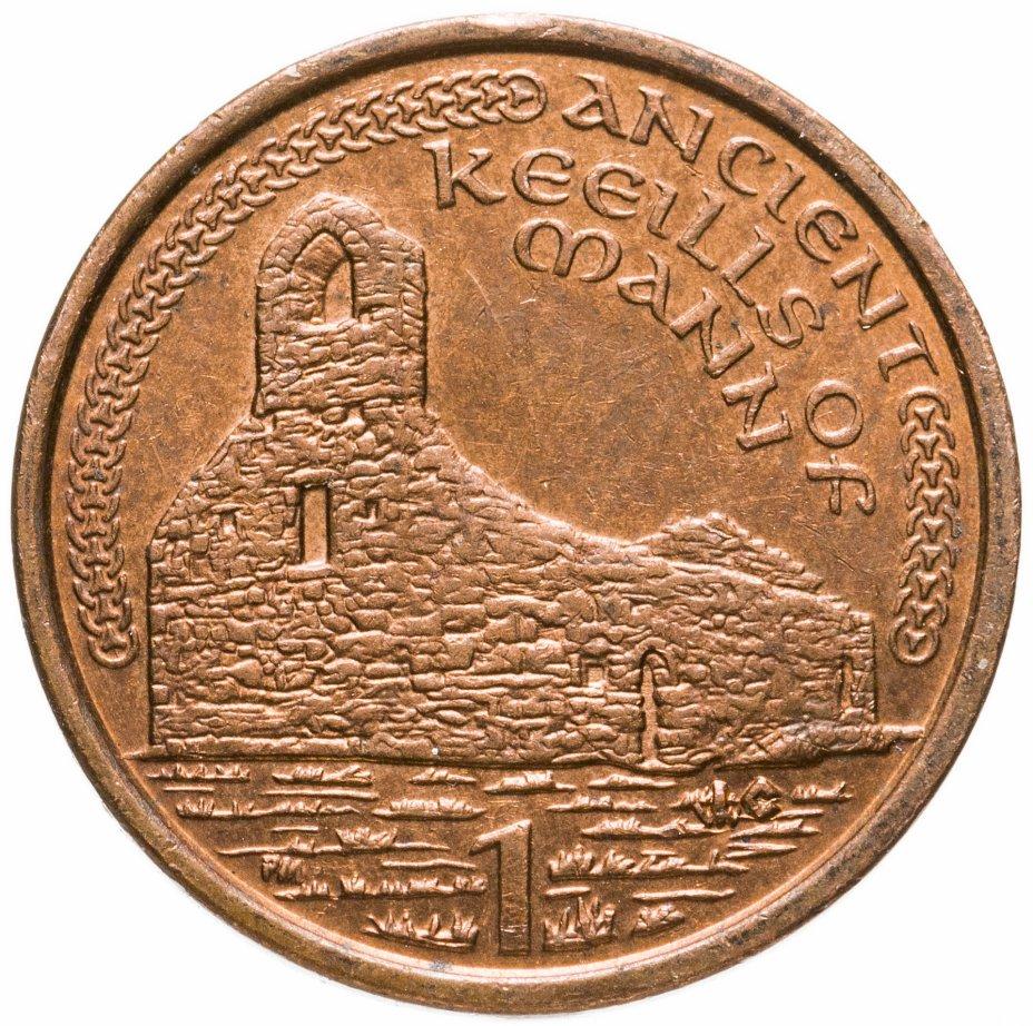 купить Остров Мэн 1 пенни (penny) 2001 AC