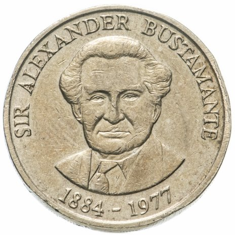 купить Ямайка 1 доллар (dollar) 1991