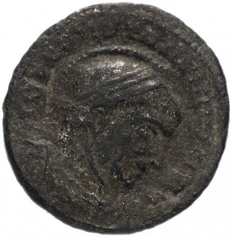 купить Римская Империя Константин I 306–337 гг фоллис (реверс: две Виктории стоят лицом друг к другу и держат щит)