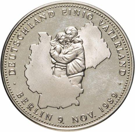 """купить Германия (ФРГ), медаль 1990 """"Германское Объединённое Отечество"""" """"Единство, Справедливость и Свобода"""""""